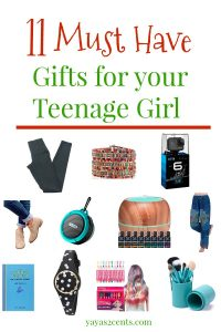 Great Gifts for Your Teenage Girl|yayas2cents.com